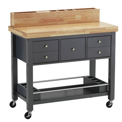 Iron Horse Kitchen Island Base Finish: Dark Gray