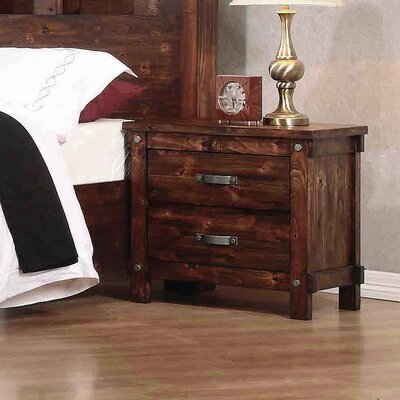 Whitney 2 Drawer Nightstand