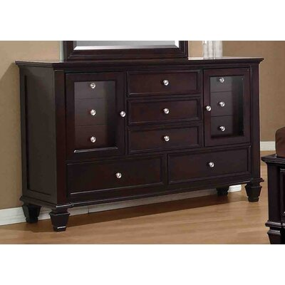 Boehme 11 Drawer Combo Dresser