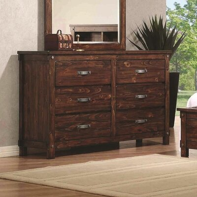 Whitney 6 Drawer Dresser