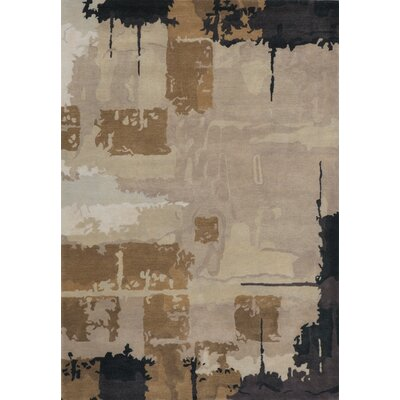 Jackson Hole Hand-Tufted Gray Rug Rug Size: Rectangle 36 x 56