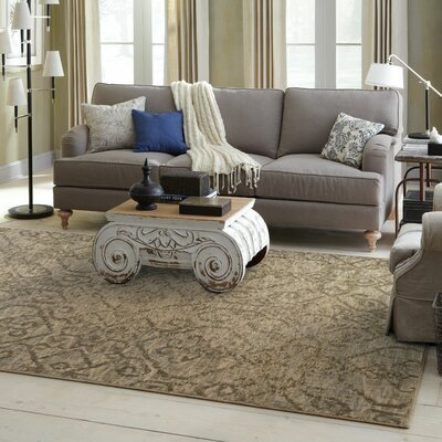 Tackett Beige/Grey Area Rug Rug Size: Runner 27 x 94