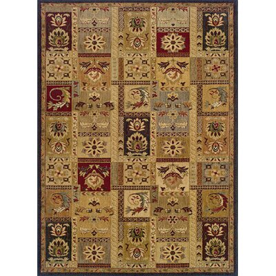 Tindell Beige Area Rug Rug Size: Rectangle 67 x 96