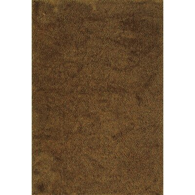 Mazon Tweed Rust/Gold Area Rug Rug Size: 53 x 79