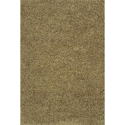 Mazon Tweed Brown/Ivory Area Rug Rug Size: 53 x 79