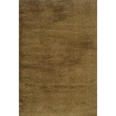 Mazon Solid Gold Area Rug Rug Size: Square 8