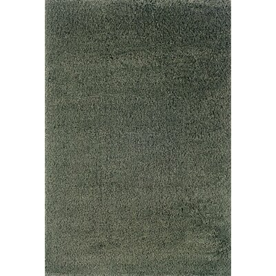 Mazon Solid Blue Area Rug Rug Size: Rectangle 67 x 96