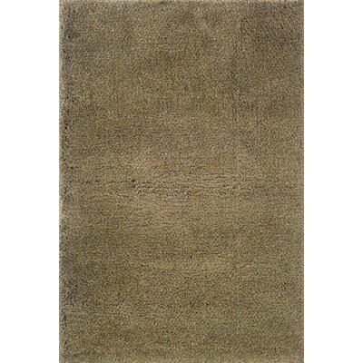 Mazon Tweed Blue/Gold Area Rug Rug Size: 67 x 96