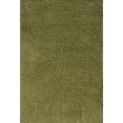 Mazon Solid Green Area Rug Rug Size: Runner 23 x 79