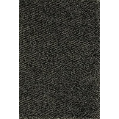 Mazon Tweed Blue/Brown Area Rug Rug Size: 53 x 79