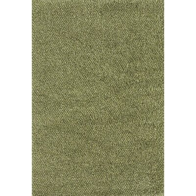 Mazon Tweed Green/Ivory Area Rug Rug Size: 53 x 79