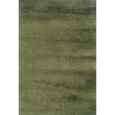 Mazon Tweed Green/Blue Area Rug Rug Size: 4 x 6