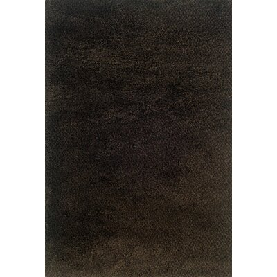 Mazon Tweed Brown/Black Area Rug Rug Size: 67 x 96
