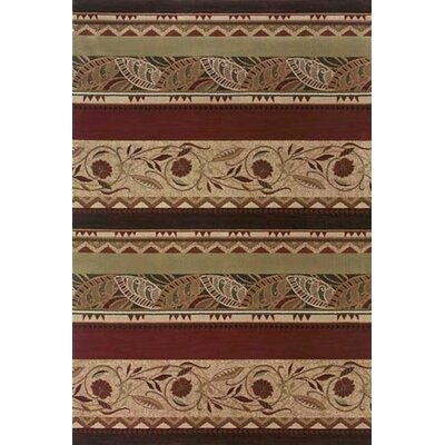 Sabanc Rust/Beige Area Rug Rug Size: Rectangle 53 x 79