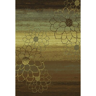 Matteson Brown/Beige Area Rug Rug Size: Rectangle 53 x 76