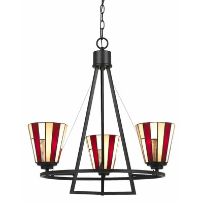 Sabatino 3-Light Shaded Chandelier
