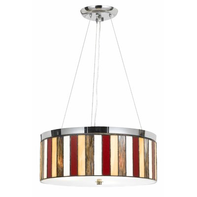 Sabatino 3-Light Drum Pendant