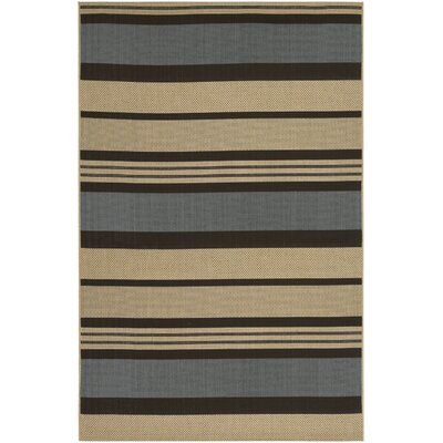 Sansom Blue Indoor/Outdoor Rug Rug Size: Rectangle 311 x 56