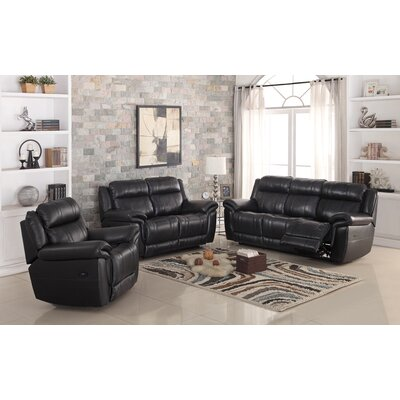 Chastain Power Leather Recliner