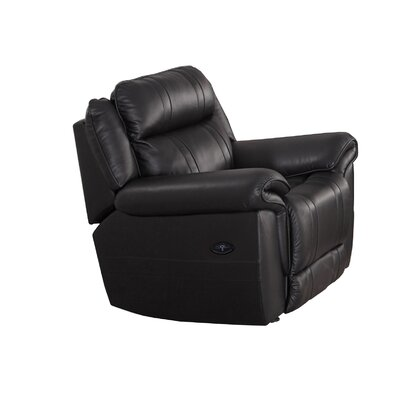 Saybrook Power Leather Recliner