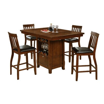 Sawyerville Pub Table Finish: Brown