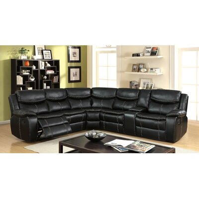 Schumann Transitional Reclining Sectional