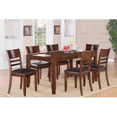 Lockmoor 5 Piece Dining Set Finish: Espresso