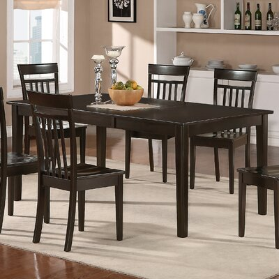 Lindstrom Dining Table Table Finish: Cappuccino