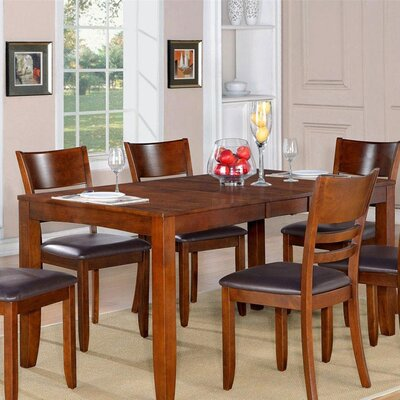 Lockmoor Dining Table Table Finish: Cappuccino