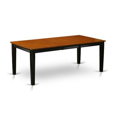 Loraine Extendable Dining Table Base Finish: Black