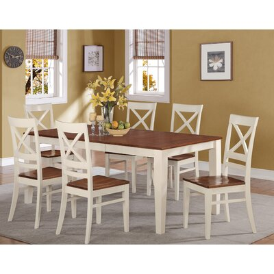 Loraine Extendable Dining Table Base Finish: White