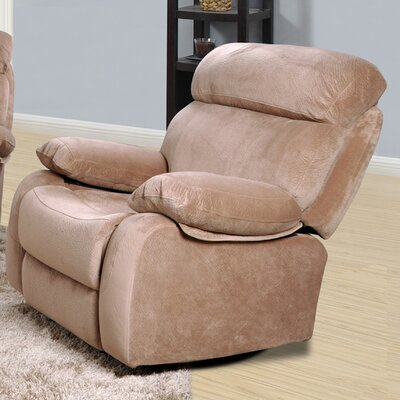 Meniru Manual Recliner Upholstery: Camel