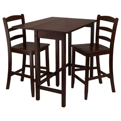 Bettencourt 3 Piece Dining Table Set