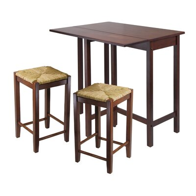 Bettencourt 3 Piece Dining Set