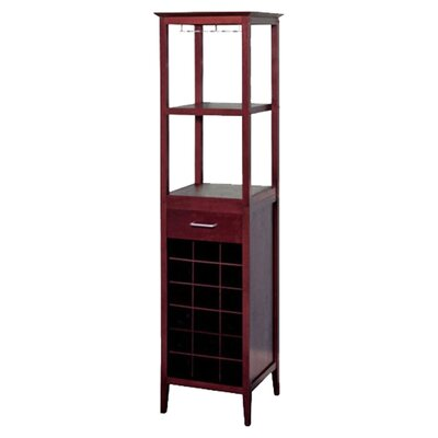 Scenic 18 Bottle Floor Wine Rack