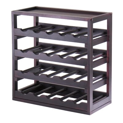 Thorndike 20 Bottle Floor Wine Rack