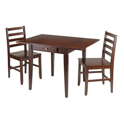 Coleshill 3 Piece Drop Leaf Dining Set
