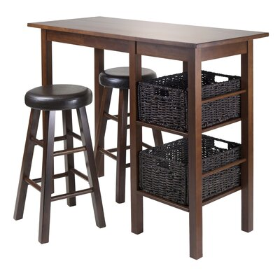 Weldon 5 Piece Pub Table Set