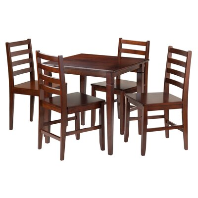 Hemphill 5 Piece Dining Set