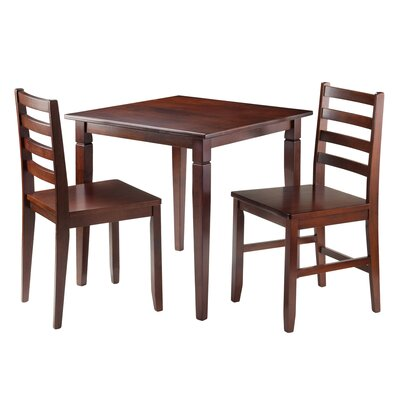 Hemphill 3 Piece Dining Set
