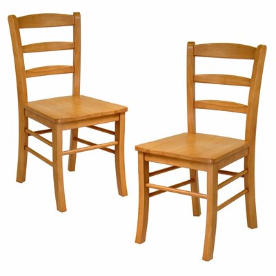 Anthem Solid Wood Dining Chair Finish: Light Oak