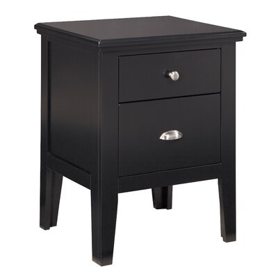 Crockett 2 Drawer Nightstand