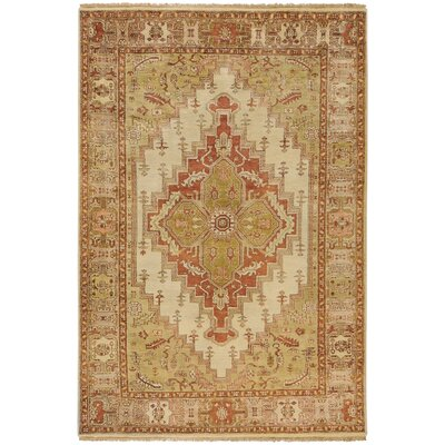 Orland Gold Area Rug Rug Size: 56 x 86