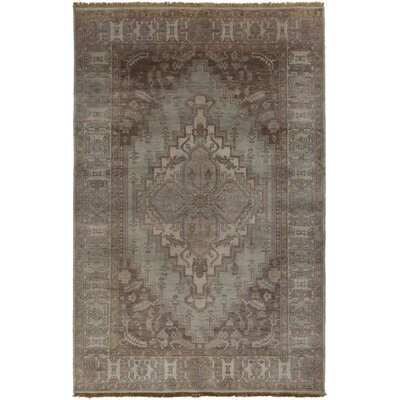 Orland Oriental Brown Area Rug Rug Size: Rectangle 56 x 86