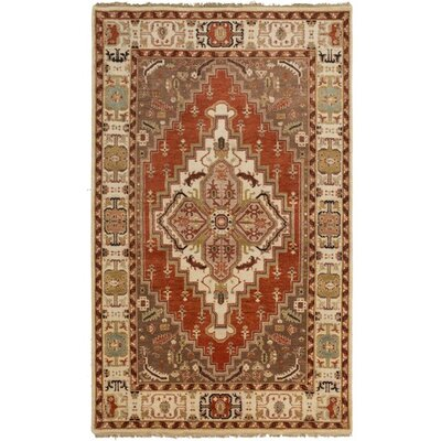 Orland Classic Beige/Rust Rug Rug Size: 79 x 99
