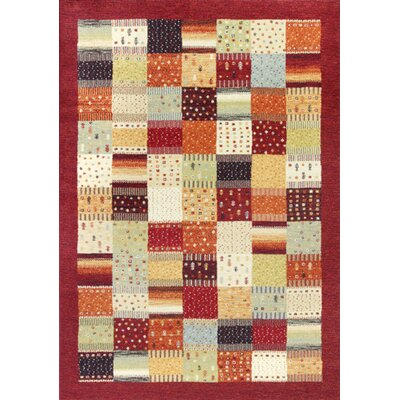 Willet Red Hacienda Area Rug Rug Size: 67 x 96