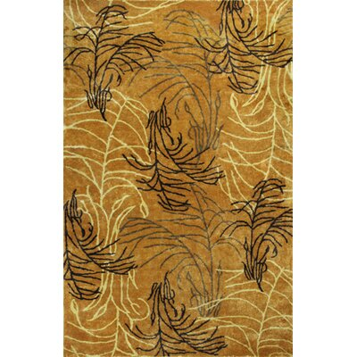 Lacayo Fields of Gold Rug Rug Size: 5 x 8