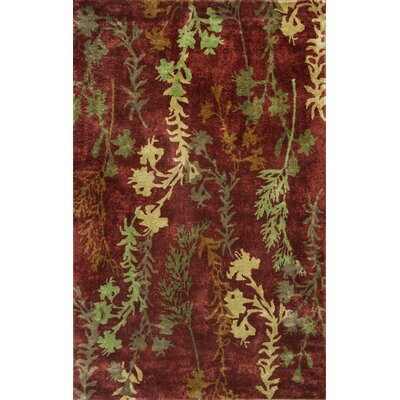 Houser Rust Serenity Rug Rug Size: 5 x 8