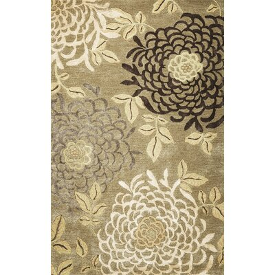 Odile Mums Area Rug Rug Size: Rectangle 36 x 56