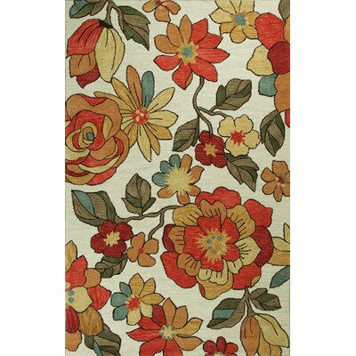 Lager Head Springtime Area Rug Rug Size: Rectangle 5 x 76